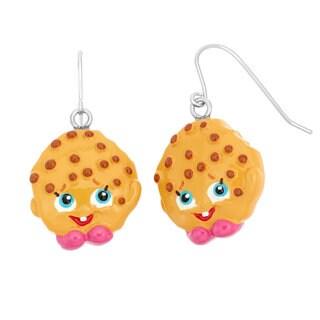 Shopkins Chidren's Poly Kooky Cookie Fish Hook Dangle Earrings