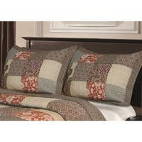 Greenland Home Fashions Stella Pillow Shams (Set of 2)