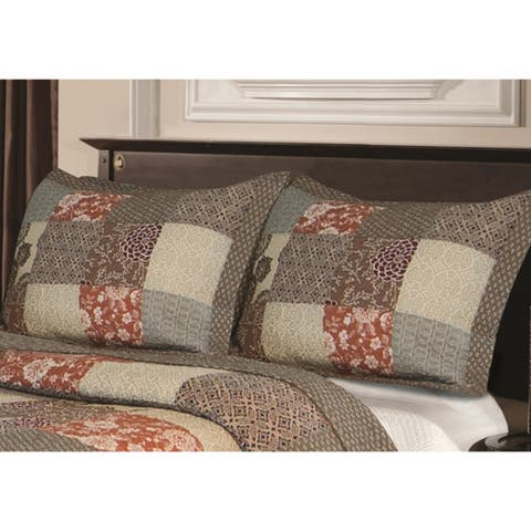 Greenland Home Fashions Stella Pillow Shams (Set of 2)