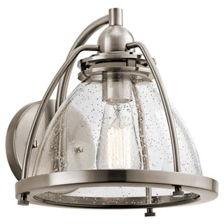 Kichler Lighting Silberne Collection 1-light Classic Pewter Wall Sconce