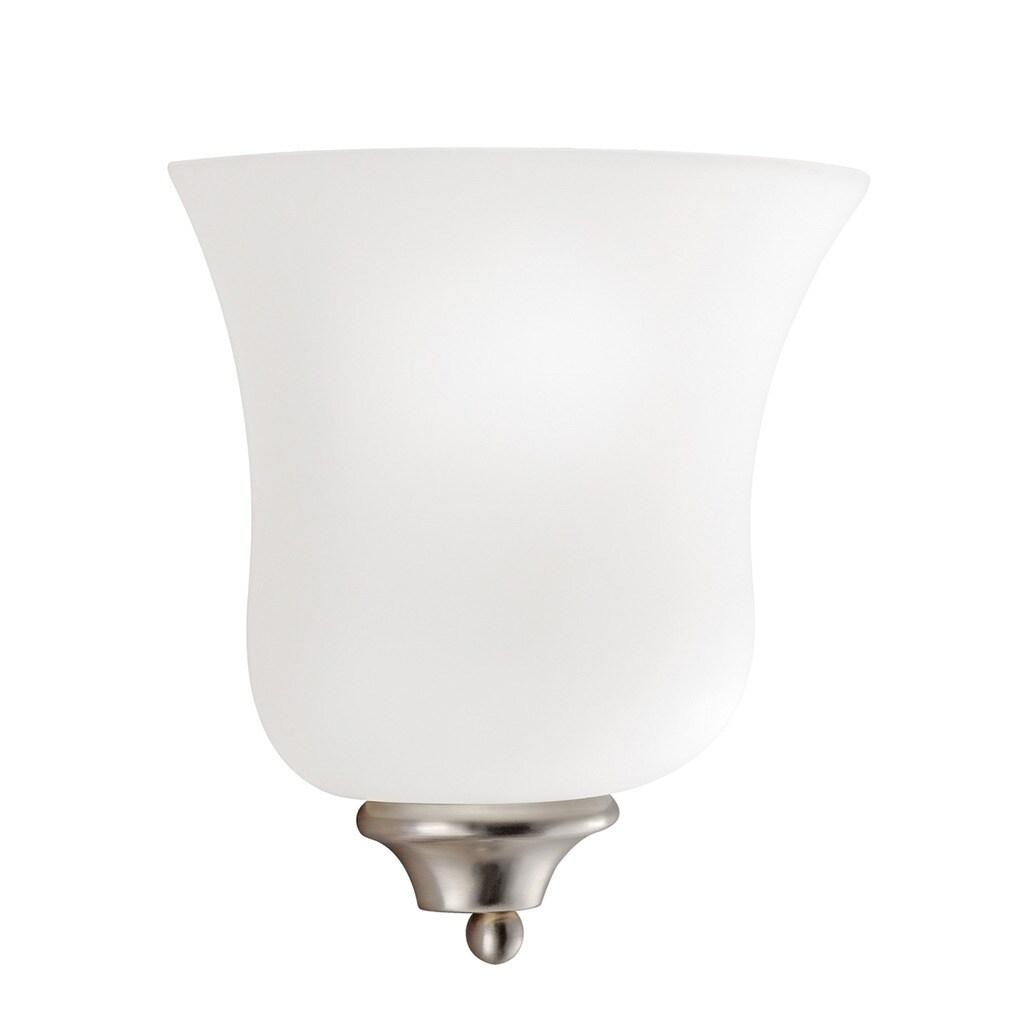 Kichler Lighting Wedgeport Collection 1-light Brushed Nic...