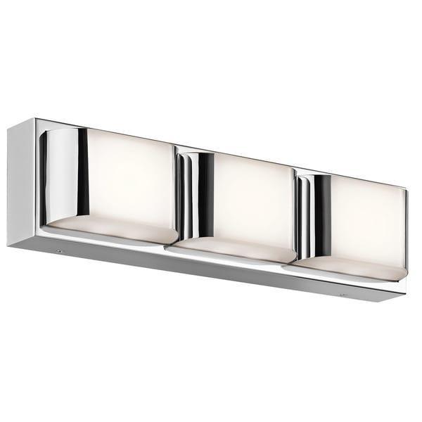 Led Bath Vanity Lighting kichler lighting nita collection 1-light chrome led bath/vanity
