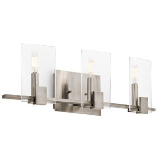 Kichler Lighting Signata Collection 3-light Classic Pewter Bath/Vanity Light