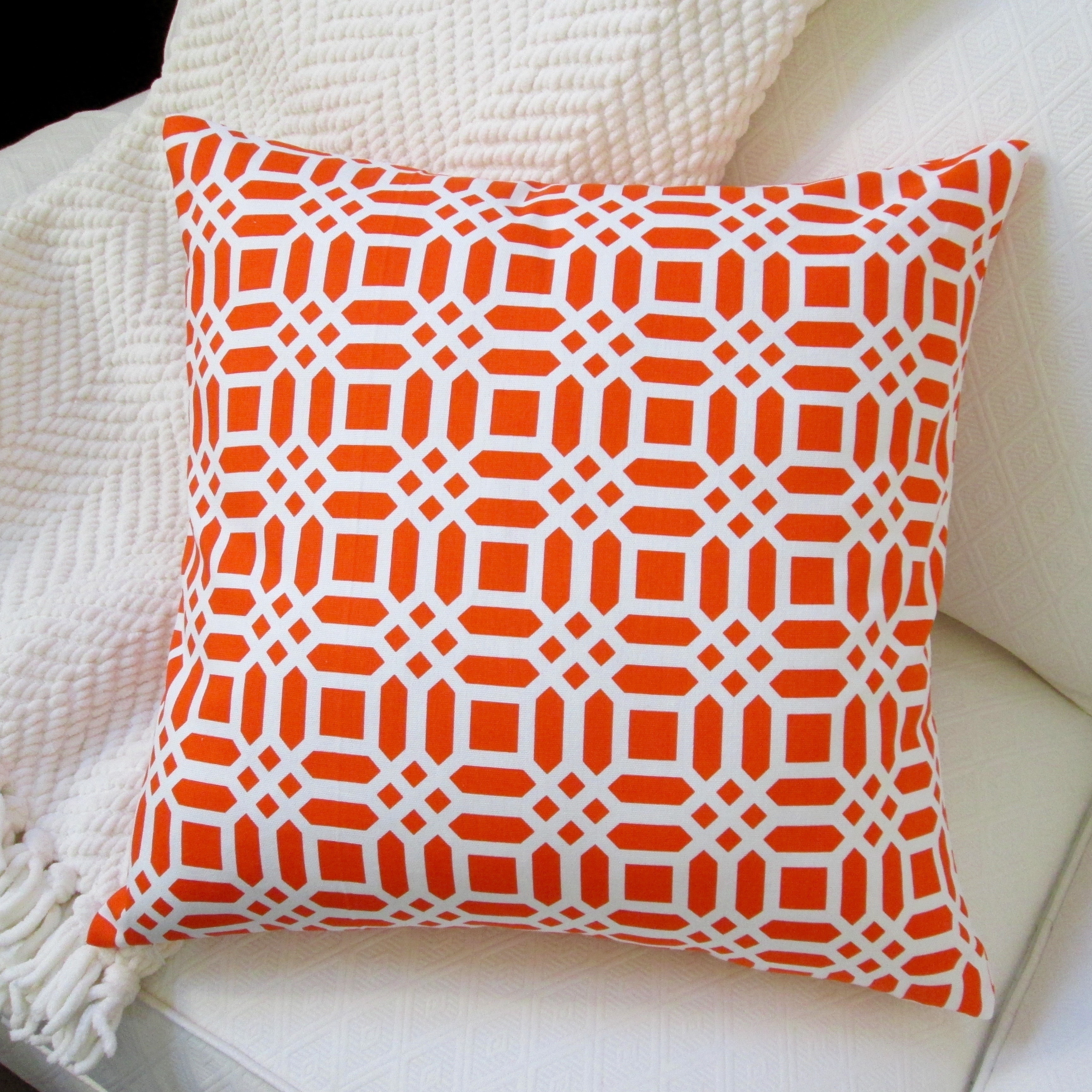 Orange Pillow Covers Throw Pillows Online At Our Best Decorative Accessories Deals