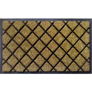 Dirtbuster Coir and Rubber 30-inch x 18-inch Lattice Mat|https://ak1.ostkcdn.com/images/products/13687254/P20350513.jpg?impolicy=medium
