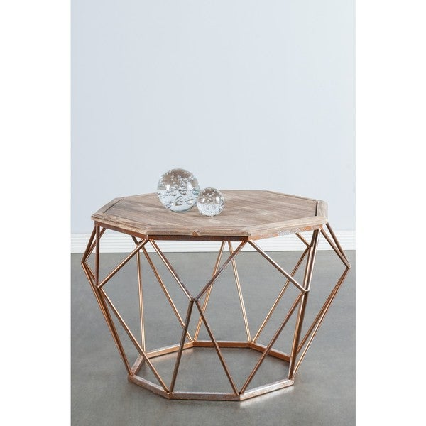 Statements By J Mystique Coffee Table W Handcrafted Legs 19 Inch Tall Free Shipping Today 13687293