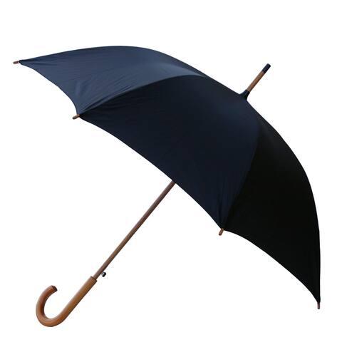 RainWorthy 48-inch Luxury Wood Handle Umbrella - L