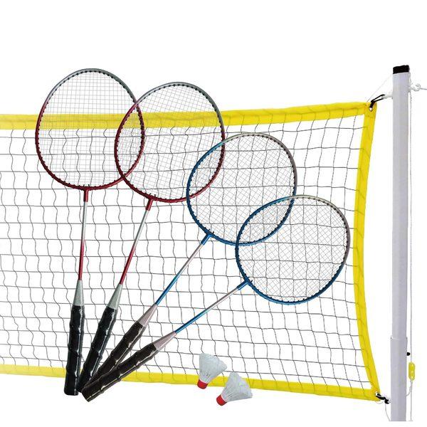 MD Sports Steel Racket Badminton Set
