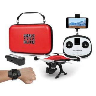 World Tech Elite 'Follow Me' Recon GPS/Live-Feed/4K Camera RC Drone