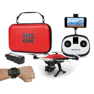 World Tech Elite 'Follow Me' Recon GPS/Live-Feed/4K Camera RC Drone|https://ak1.ostkcdn.com/images/products/13687408/P20350657.jpg?impolicy=medium