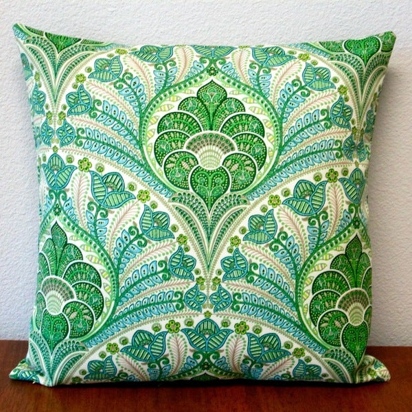 Shop Artisan Pillows Outdoor 40inch Green Beach Riptide Modern Delectable Coastal Throw Pillow Covers