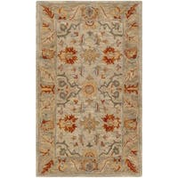 Safavieh Antiquity Traditional Handmade Beige/ Multi Wool Rug - 2' x 3'