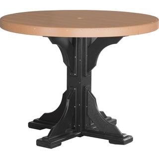 Poly Outdoor 4 Foot Counter Height Round Table
