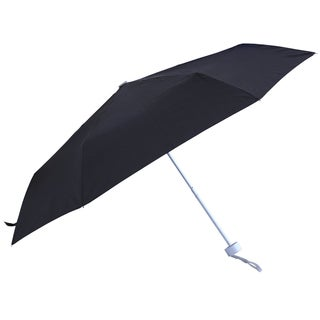 RainWorthy Black Polyester and Metal Super Compact Umbrella