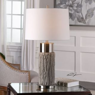 Uttermost Bartley Old Wood Table Lamp