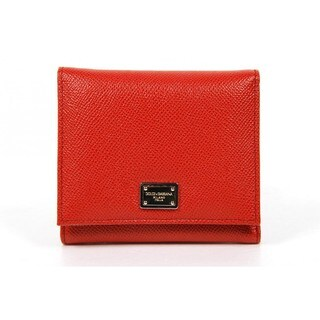 Dolce & Gabbana Blood Orange Ladies' Wallet