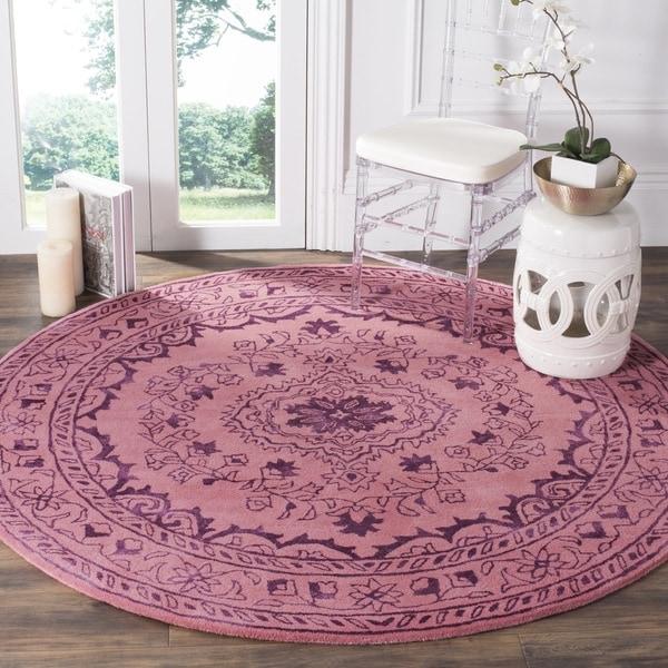 Safavieh Handmade Glamour Contemporary Bohemian Pink