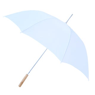 RainWorthy 60-inch White Windproof Umbrella