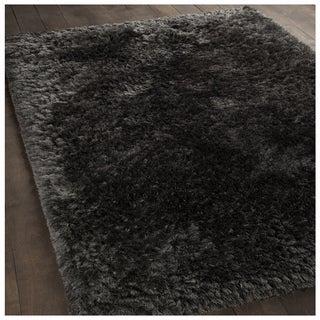 Mandara Hand-Woven Contemporary Solid Pattern Shag Rug (11'x11')