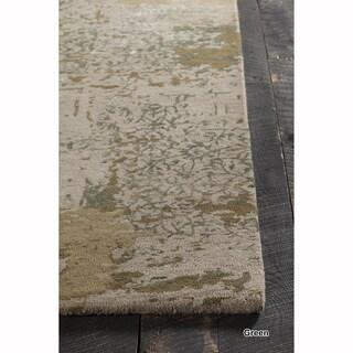 "Mandara Hand-Tufted Contemporary Abstract Pattern Rug (8'x19'2"")"