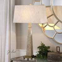Uttermost Montolo Marble Table Lamp
