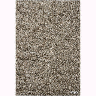 Mandara Hand-Woven Contemporary Solid Pattern Shag Rug (10'x12')