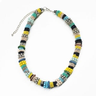 Masai Inspired Necklace (India)