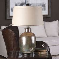 Uttermost Kalamaria Olive Gray Lamp