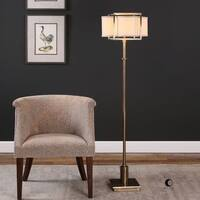 Uttermost Bettino Antique Brass Floor Lamp