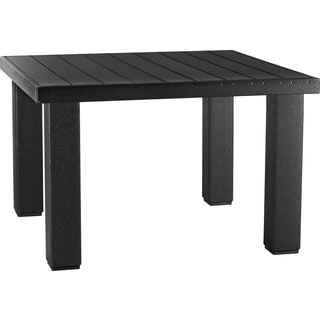 Poly Outdoor 4' Square Contemporary Table
