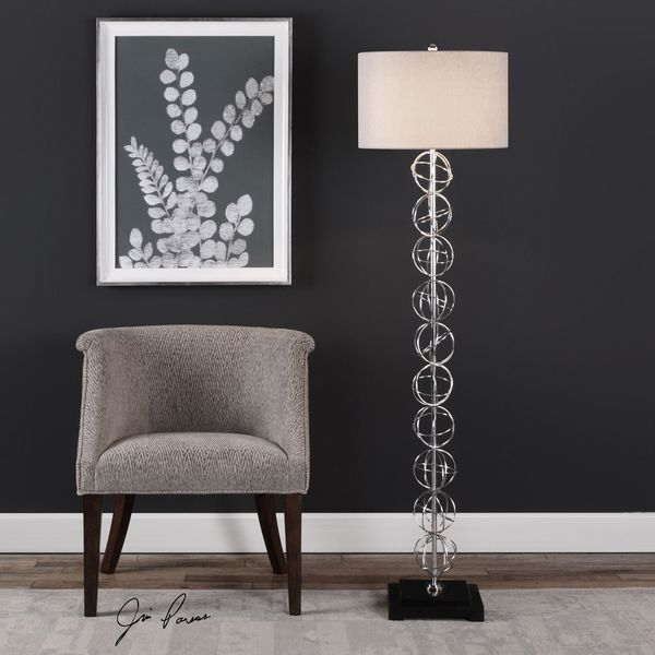 Uttermost Italo Stacked Sphere Floor Lamp
