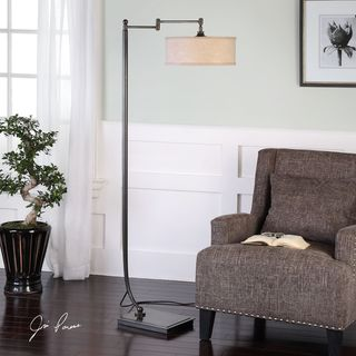 Link to Uttermost Lamine Dark Bronze Floor Lamp Similar Items in Desk Lamps