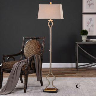 Uttermost Vincent Gold Floor Lamp