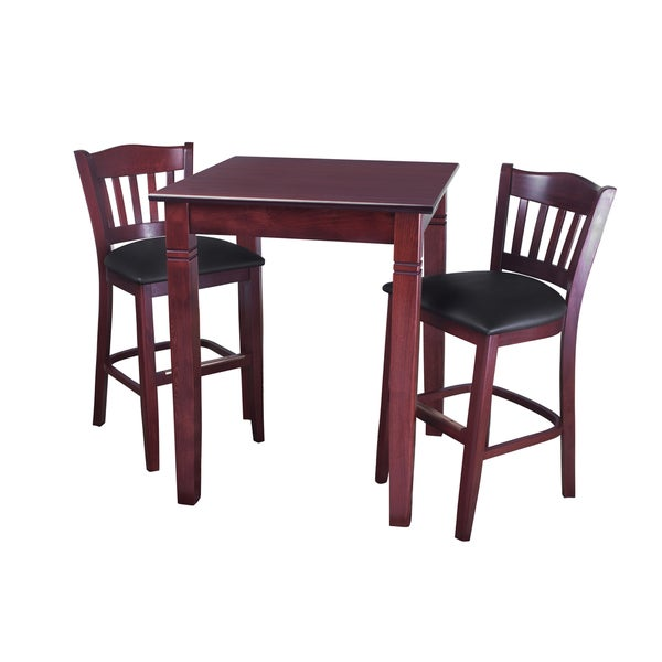 Shop 3 Piece Pub Height Dining Set On Sale Free Shipping Today