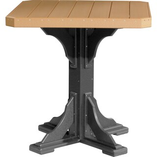 Poly Outdoor 41 In Bar Height Square Table