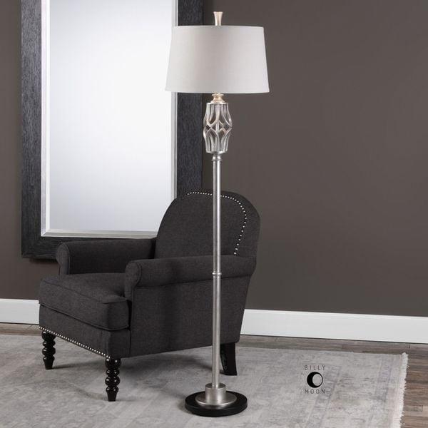 Uttermost Cadeyrn Forged Steel Floor Lamp