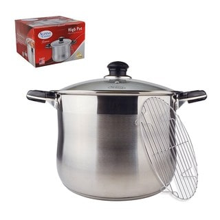 Stainless Steel 24-quart High Pot