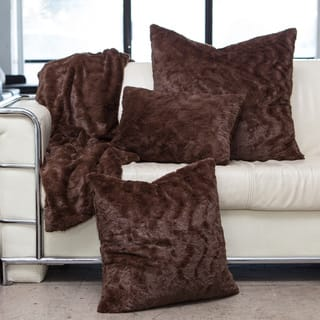 Chateau by Sheri Luxurious Faux Fur Pillows, Throw, and/or Set|https://ak1.ostkcdn.com/images/products/13687740/P20351240.jpg?impolicy=medium