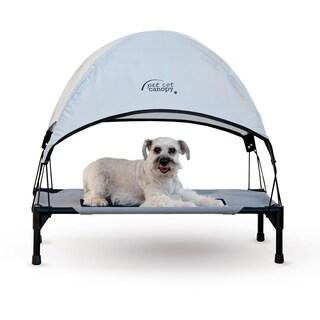 K&H Pet Products Pet Cot Canopy (Option: Large, Grey)