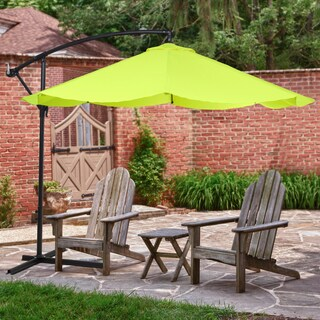 Pure Garden 9 Foot Aluminum Patio Umbrella With Auto Crank