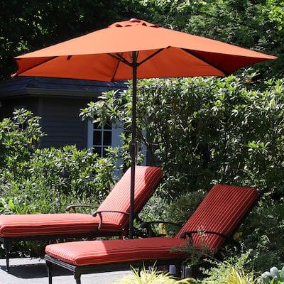 Orange Pure Garden Patio Umbrellas