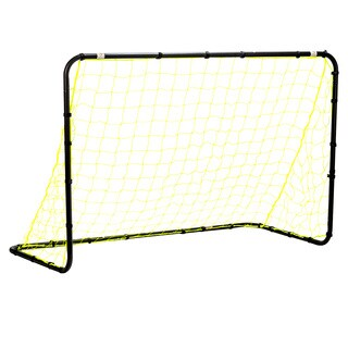 Franklin Sports 4' X 6' Black Powder Coated Steel Non-Folding Goal