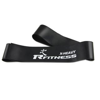 Furinno RFitness Black Latex 84-inch Professional Muscle Compression Heavy FLOSS Band