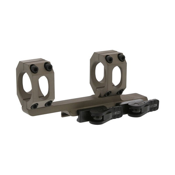 American Defense Tan Anodized Aluminum 30-millimeter FDE Recon Scope Mount