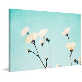 Marmont Hill - 'Aqua Breeze' by Morgan J Hartley Painting Print on Wrapped Canvas