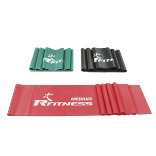 Furinno R-Fitness 60-inch Latex Resistance Training Exercise Band (3-piece Set)