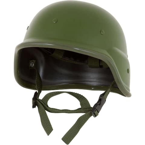 Modern Warrior M88 Green ABS Tactical Helmet with Adjustable Chin Strap