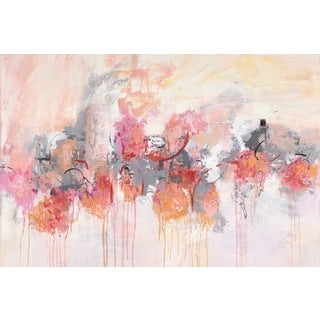 Marmont Hill - 'Petal Patch II' by Julie Joy Painting Print on Wrapped Canvas