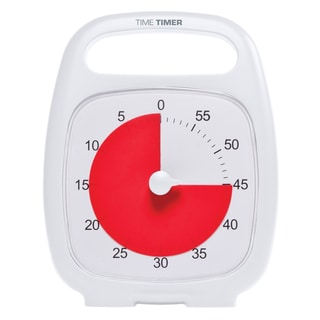 Time Timer Plus White Analog Timer