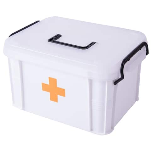 First Aid Medical Kit - White